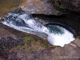 The Devils Bathtub Hocking Hills State Park Old Man U0027s Cave Trekohio