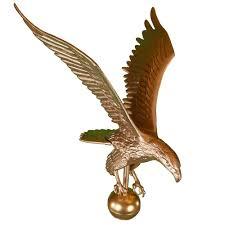 Eagles Flag Amazon Com Montague Metal Products Flagpole Eagle 12 Inch Gold