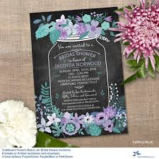 jar bridal shower invitations 26 wedding shower invitation templates free sle exle