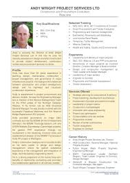 Resume Engineering Manager Andy Wright Resume January 2016
