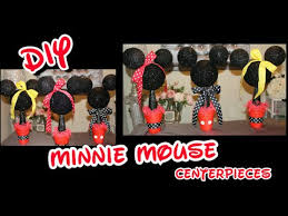 mickey mouse centerpieces diy minnie mickey mouse centerpieces girl s birthday party