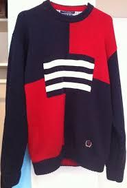 vintage hilfiger sweaters vintage hilfger knit crew neck sweater vintage