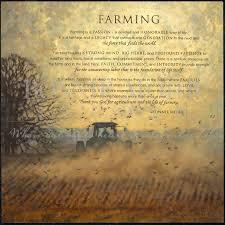 farming print featuring farm tractor by