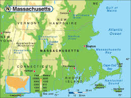 Massachusetts rivers images Massachusetts rivers lakes mountains and elevations map gif