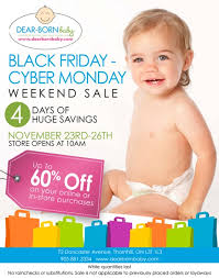 black friday deals on baby stuff dear born baby canada black friday cyber monday sale
