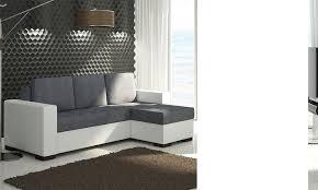 canape d angle bicolore canape d angle avec couchage et coffres bicolore