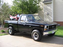 Ford Vintage Truck - 1984 ford f150 what i have but lifted a lot more trucks
