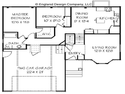 Split Level Ranch House Plans Perfect Split Level Floor Plans Court Dimensions For Volleyball