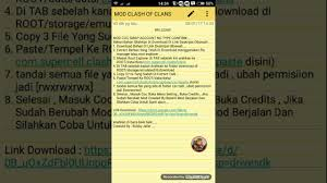 game coc sudah di mod mod clash of clans swap account no confirm 28 01 2017 youtube