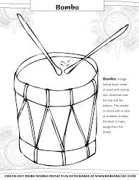 coloring pages musical instruments tiny tapping toes