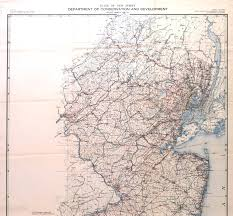 New York Central Railroad Map by New Jersey Historical Maps