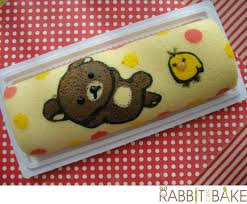 rilakkuma roll cake rabbitcanbake