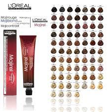 L Shade L Oreal Professional Majirel Majiblond Majirouge Hair Colour