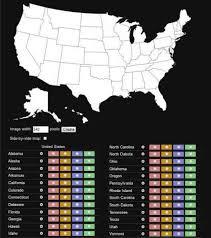 visited states map map of visited states map travel holidaymapq com