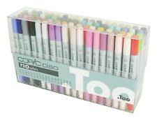 rare too copic sketch 72 colors d set anime pen u0026 marker from
