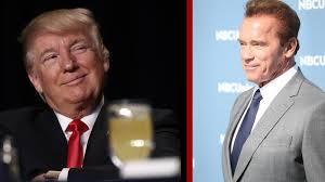 Queen Elizabeth Donald Trump Trump And Schwarzenegger Spar Over Apprentice Ratings