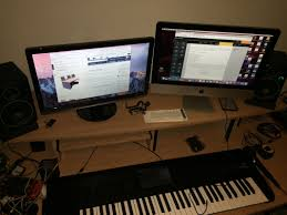 Omnirax Presto 4 Studio Desk recording studio equipment for the home studio best studio desks