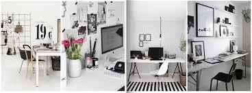 Desk Inspiration Say Yes To The Desk U2013 Black White U0026 Chrome Workspace Inspiration