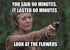 Look At The Flowers Meme - the walking dead look at the flowers memes of the walking dead
