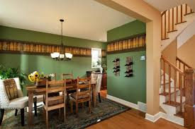 kitchen wallpaper borders ideas traditional dining room with green walls and wallpaper border