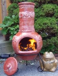 chiminea outdoor fireplace binhminh decoration