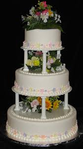 cake pillars wedding cakes dinkel s