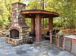 outdoor kitchen with fireplace designs kitchen decor design ideas