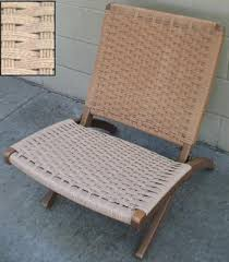 Knock Off Modern Furniture by Introducing Danish Cord And Patterns Woven With It