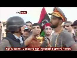 Gaddafi Meme - gaddafi s hat noy alooshe freedom fighters remix youtube
