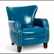 Teal Blue Accent Chair Blue And White Striped Accent Chair Chairs Home Decorating