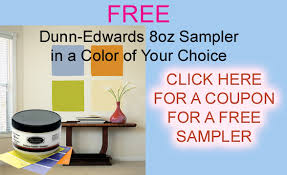 go to www sedonapaint com and get a coupon for a free dunn edwards