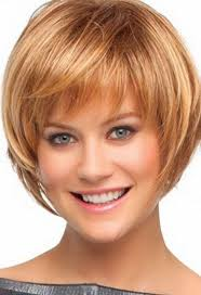 short hairstyles with layers and bangs hair style and color for