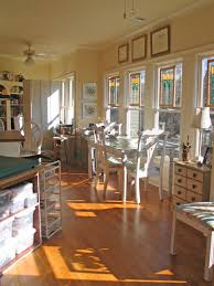 art and craft studio just look at the light in there the