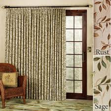 interior glamorous curtains for patio doors design homelena