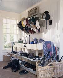 country mudroom laundry room farmhouse with window blinds