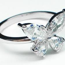 butterfly engagement rings crafted butterfly engagement ring matching