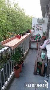 bank fã r balkon balkonbar klein balkon idee steigerhout doe het zelf meubelen