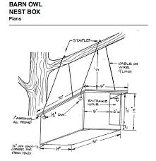 How To Make A Building Plan Free by How To Build A Barn Owl Nest Modern Farmer