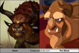 Guild Wars 2 Meme - charr guild wars 2 totally looks like the beast beauty and the