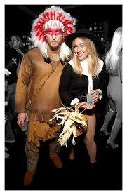 m m halloween costume hilary duff and her boyfriend apologise for their insensitive