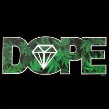 Dope American Flag Pot Leaf Dope Diamond T Shirt