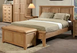 Solid Bed Frame King King Wooden Bed Frame Using Small Table L With