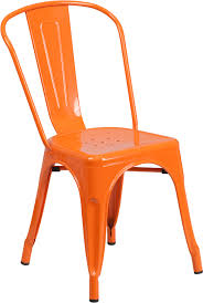 Plastic Stackable Chairs Metal Indoor Outdoor Stackable Chair Ch 31230 Or Gg