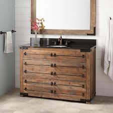 Wood Bathroom Cabinet by 48