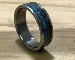 titanium wedding bands for men mens titanium ring etsy