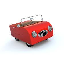 cartoon convertible car cartoon convertible 3d model 19 oth fbx obj lwo lxo free3d