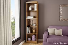 Bookcase Narrow by Amazon Com South Shore Axess Collection 5 Shelf Narrow Bookcase