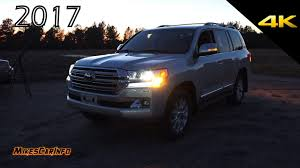 toyota land cruiser 2017 at night 2017 toyota land cruiser youtube