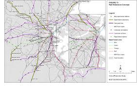 Mbta Commuter Rail Map Core Efficiencies Study Of The Massachusetts Bay Transportation
