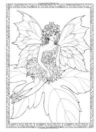 enchanted fairies creative haven dover coloring book